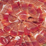 Sliced Spanish Iberico Shoulder Ham de Bellota